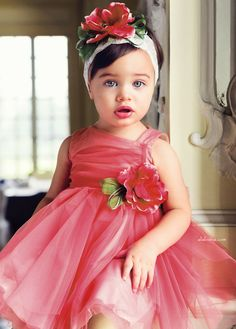 ALALOSHA: VOGUE ENFANTS: Special Ocassion Dresses for your cutie-pie from ALETTA