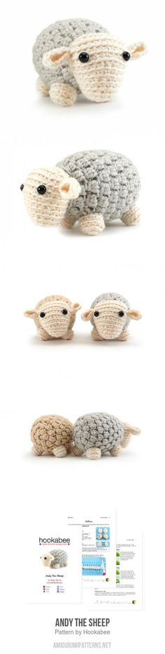Andy The Sheep Amigurumi Pattern