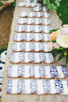 This California wedding is inspired by citrus and vibrant colors. See the ...  #california #citrus #colors #inspired #Vibrant #wedding Wedding Table Seating, Wedding Favor Table, Wedding Favors For Guests, Unique Wedding Favors, Wedding Table Numbers, Wedding Place Cards, Wedding Gifts, Wedding Ideas, Trendy Wedding