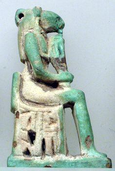 Amulet, Bastet, : Late Period–Ptolemaic Period :  664–30 B.C.  Egypt