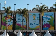 The scene: Germany and Argentina will take to the pitch to battle it out to make history in the 2014 World Cup final at 8pm