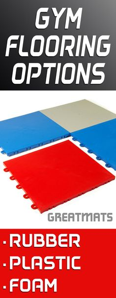 Greatmats offers gym flooring in many forms, including rubber, foam and plastic.