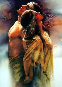"""Together"" art print. Native American art. Lee Bogle"