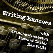 Writing excuses podcast with Brandon Sanderson, Howard Tayler, and Dan Wells Brandon Sanderson, Writing, Wells, Dan, Club, Craft, Book, Creative Crafts, Basteln