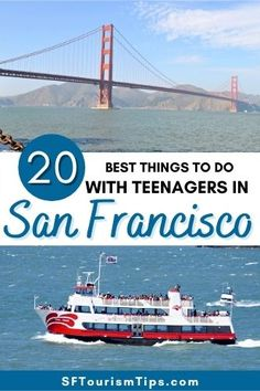 San Francisco With Kids, Things To Do, Good Things, Golden Gate Bridge, Best Hotels, Teen, Activities, Beach, Water