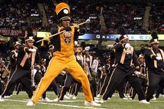 The World Famous Grambling State University Marching Band