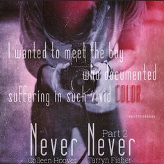 Never Never by Colleen Hoover and Tarryn Fisher