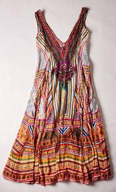 What to Pack for Jamaica: Camilla Through Threads of Time Silks Maxi Dress | CoastalLiving.com