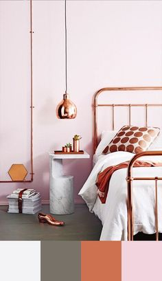 bedroom-color-scheme-copper-and-neutrals
