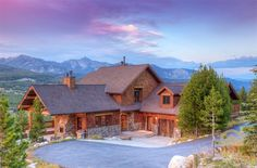 Single Family Home for Sale at 110 Diamond Hitch Road Big Sky, Montana,59716 United States