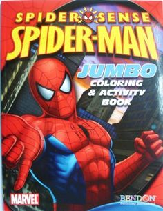 Spider Man Coloring Activity Book Cover Art May Vary By Bendon Publising