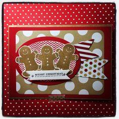 Stampin' Up! Christmas card