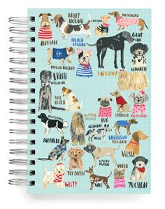 Ecojot produces beautiful, recycled Canadian made journals including our famous jumbo journals. Designed by Carolyn Gavin. Stationery Paper, Stationery Design, Dog Illustration, Illustrations, Painting Collage, Cute Stickers, Paper Design, Yorkie, Dachshund