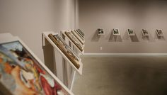 ART WITHIN: Excavated Books Gallery View