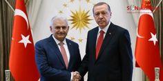 Cumhurbaşkanı Erdoğan, Başbakan Yıldırım ile görüştü