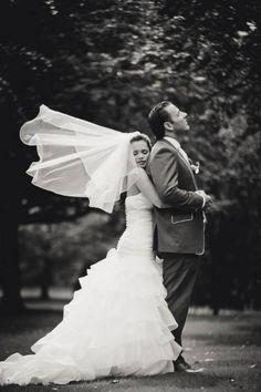 Brautfrisuren mit Schleier [Fotos]