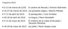Club virtual de lectura del Instituto Cervantes