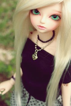 Wonderland by CorpseDollyxx, via Flickr BJD Fairyland MNF Ryeon Marceline