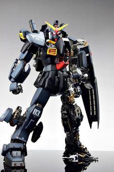"RX-178 Gundam Mk-II Titans. Custom Painted by ""Suny Buny"".    #Gundam #GunPla"