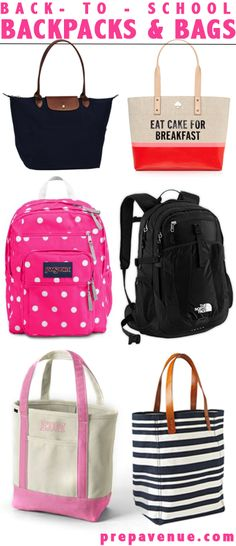 d95b9f405f Back to School Bags. North Face Backpack ...