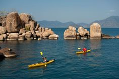 20 ancient lakes around the world LAKE MALAWI, MALAWI/MOZAMBIQUE/TANZANIA: 2 TO 20 MILLION YEARS OLD
