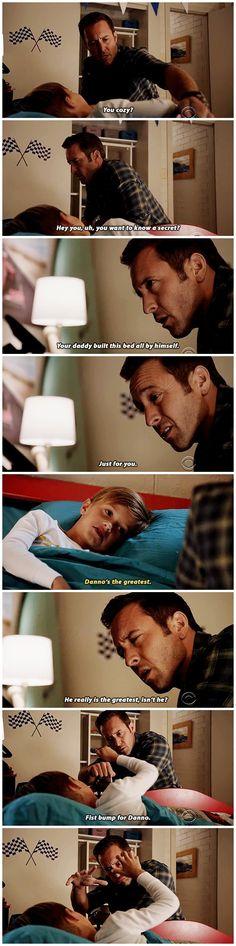 I love Steve and Danny's friendship. #bestfriendgoals
