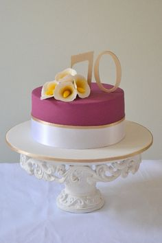 Tea for Two Tanya and Tonys birthday cake My Cakes Pinterest