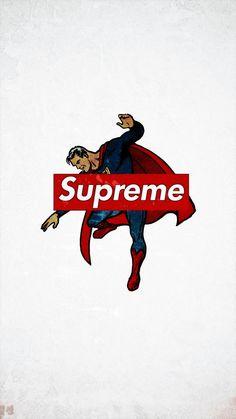 supreme×supermanHD  walllpaper