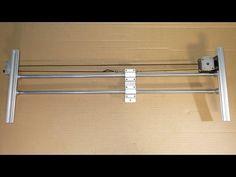 Homemade Professional Video DSLR Camera Sliders DIY Dolly Stabilizer Mot...