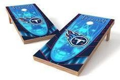 Tennessee Titans Single Cornhole Board - Hot