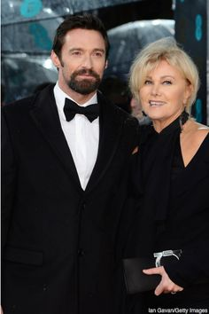 """""""When I met Deb, it was 10 times better than my single life. She was very beautiful. She was unbelievably fun -- this energy, this spirit -- irrepressible. And she had a confidence in herself. I had a massive crush on her instantly.""""--Hugh Jackman.  This is only one of the reasons why he's so adorable to me!  By the way, Deb is now the second honorary woman on this board.  The first was Charlize Theron."""