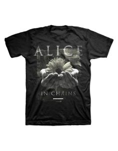 Alice in Chains Daisy Hands Mens T-Shirt - Guaranteed Authentic.  Fast Shipping.