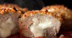 Receta de Muffins de carne de pollo con parmesano | Sabores de México