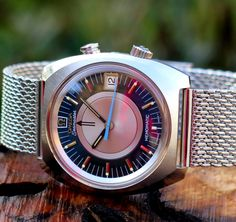 Vintage OMEGA Seamaster Memomatic In Stainless Steel On Mesh Bracelet - https://omegaforums.net Omega Seamaster Memomatic Vintage Menswear Mensfashion Wristshot Womw Wruw Horology Classic Timeless Watches Watchporn Fashion Style Preppy Montres Uhren Orologio