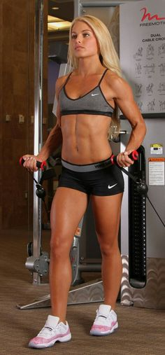 "onlyrippedgirls: ""Our Website has our full gallery of #Ripped Girls www.OnlyRippedGirls.com #gymgirls #fitness """