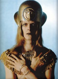 Personally though, I subscribe to the idea that, like Apollo, Omar Khayyam, and Mozart before him, Bowie is just a manifestation of the sun god Amun-Ra.