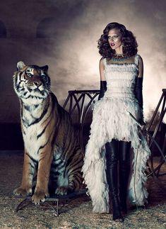 chris nicholls wild Kim Cloutier Joins the Circus for Dress to Kill Magazine by Chris Nicholls News Fashion, Fashion Shoot, Editorial Fashion, High Fashion, Women's Fashion, Circus Fashion, Daily Fashion, Fashion Models, Chris Nicholls