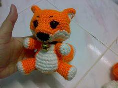 Larger Fox Amigurumi Crochet Pattern