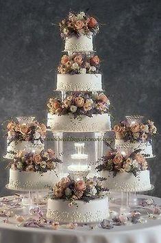chocolate wedding cake recipes from scratch uk Big Wedding Cakes, Wedding Cake Prices, Creative Wedding Cakes, Floral Wedding Cakes, Wedding Cake Stands, Elegant Wedding Cakes, Beautiful Wedding Cakes, Wedding Cake Designs, Wedding Cupcakes