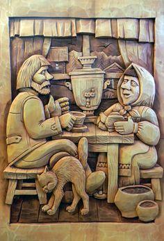 Резные деревянные панно. Творчество художника Юрия Бобина.. Обсуждение на LiveInternet - Российский Сервис Онлайн-Дневников