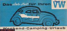 VW - 1964 - Das Autobett für Ihren VW - [6242]-1