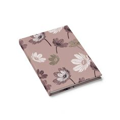 Blush Floral Journal - Ruled Line