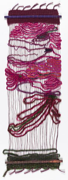 Lenore Tawney, Hanging, 1960. Linen, wool, and silk. Courtesy Cooper-Hewitt