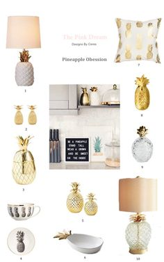 Latest Pineapple Obsession For Your Home