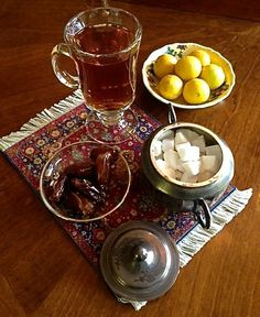 I could really go for some true Persian tea, with the company of a classy-sassy Persian Baha'i woman---with way too much makeup on. Oh the comforting memories!