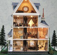 Ashley Gothic Victorian 1/48 Scale | Laser Dollhouse Designs Forum
