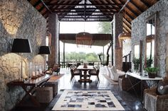 Chic Boho Decor Inspiration from Luxury Reserves in Africa: Londolozi Private Game Reserve and Camps - Condé Nast Traveler