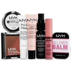 Nyx Multi Tricks Of The   Travel Kit ($13) ❤ liked on Polyvore featuring beauty products, beauty, makeup and multi