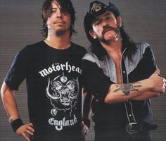 Dave Grohl & Lemmy of Motorhead