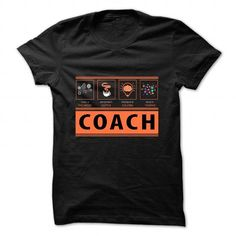 Coach T-shirt - Skills Included, Requires Coffee, Problem Solving, Multitasking T-Shirts, Hoodies (22.5$ ==►► Shopping Here!)